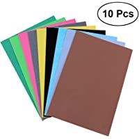 ROSENICE EVA Foam Sheets Assorted Colours For DIY Craft 10PCS