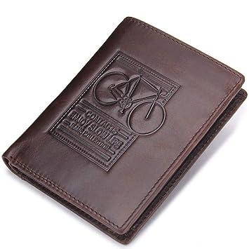 Estuche para tarjeta de ventana ID para billetera Cuero que ...