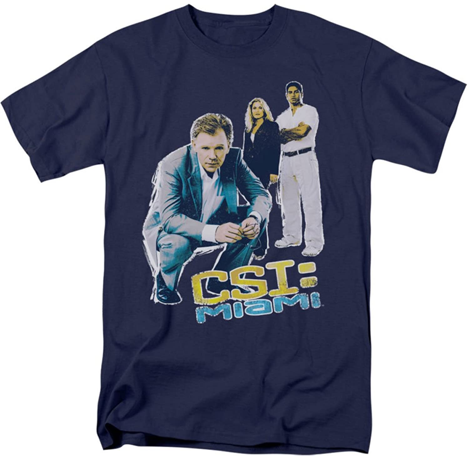 Csi: Miami - Mens Perspective T-Shirt In Navy