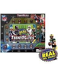 TeenyMates Collectible NFL Figures Quarterback Collector Gift Set - 14 NFL Quarterbacks