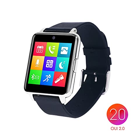 OUMAX® Bluetooth Reloj inteligente S6 plus Para iPhone 6, 6 plus, 6s y Samsung S6, ...