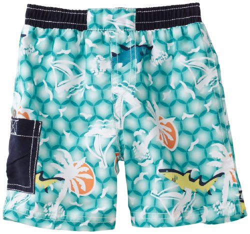 Floatimini Baby Boys' Emerald Sea Swim Shorts