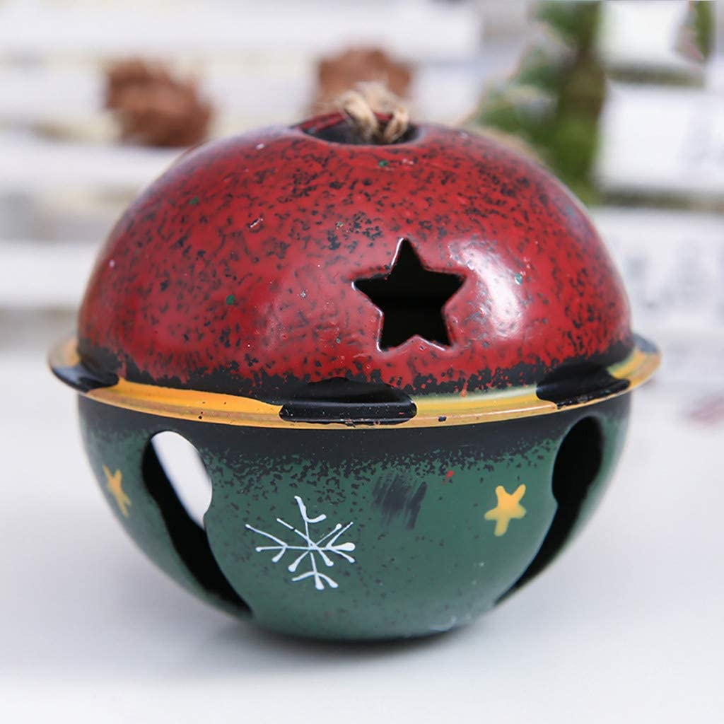 Amazon Forestime Color Metal Jingle Bell Decoration