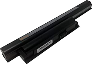 New GHU Battery 58 WH Replacement for VGP-BPS22 BPS22 VGP-BPS22A VGP-BPL22 VGP-BPS22/A Compatible for Selected Sony VAIO Notebook Battery 6-Cell 5200mAh 58Wh