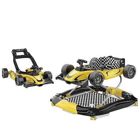 YUMEIGE Andadores Andadores plegable sin instalación, chasis ...
