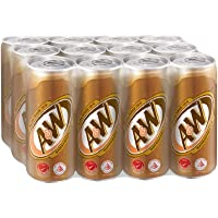 A&W Sarsaparilla Root Beer, 320ml (Pack of 12)