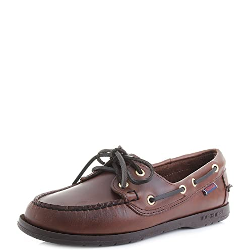 Sebago - Mocasines para Mujer Marrón Brown-Gum W10: Amazon.es: Zapatos y complementos