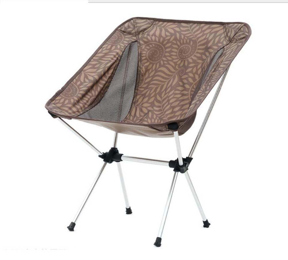 Onfly Klappstuhl im Freien, Sun-Ruhesessel, beweglicher zusammenklappbarer kampierender Schemel, Ultralight faltende stützende Stühle mit tragender Tasche