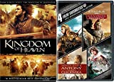 Epic Adventure Kingdom of Heavens + Troy / Alexander / Clash of the Titans / Antony & Cleopatra 5 movie dvd bundle