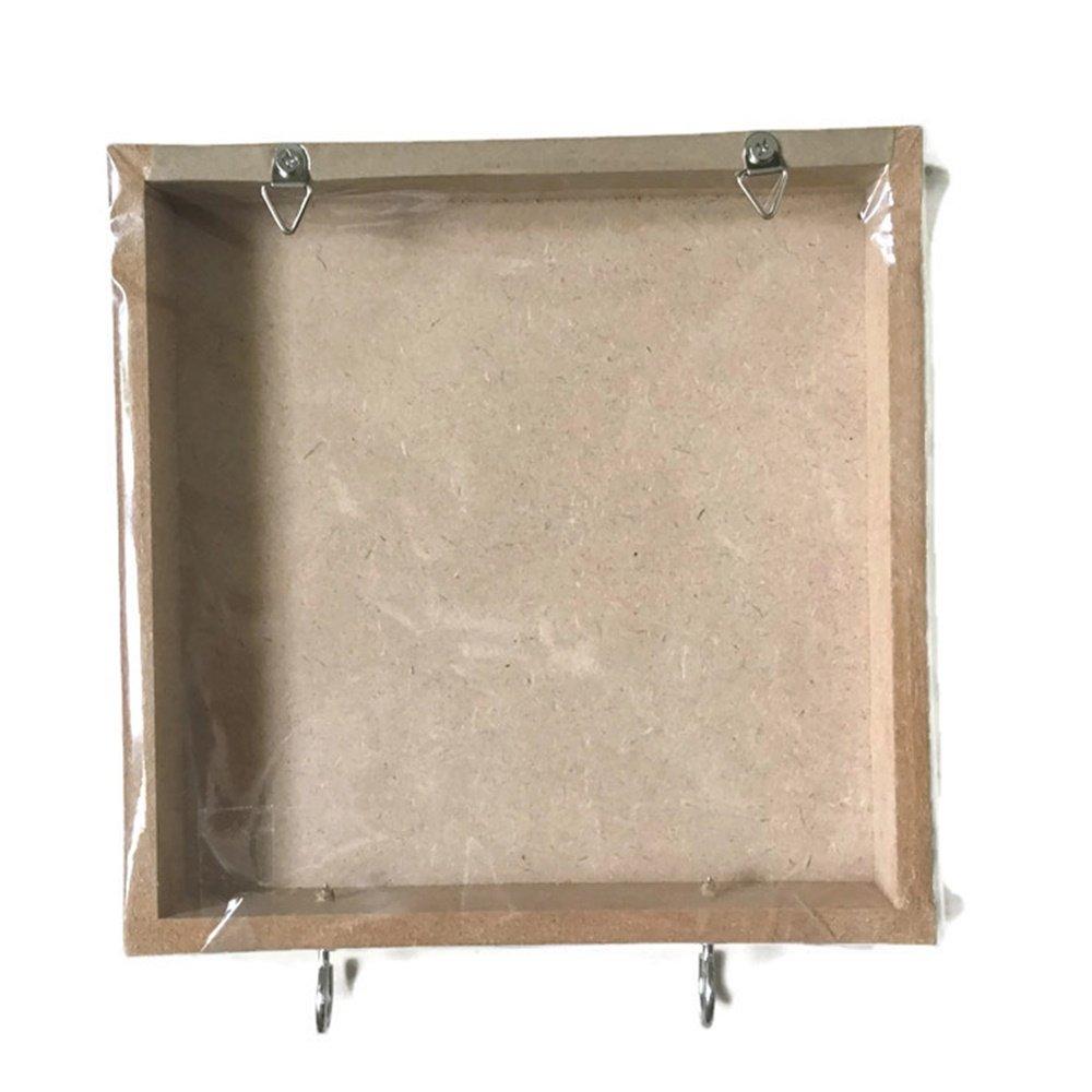 Agility Bathroom Wall Hanger Hat Bag Key Adhesive Wood 2 Hooks Vintage Pink Minnie Mouse/'s Photo