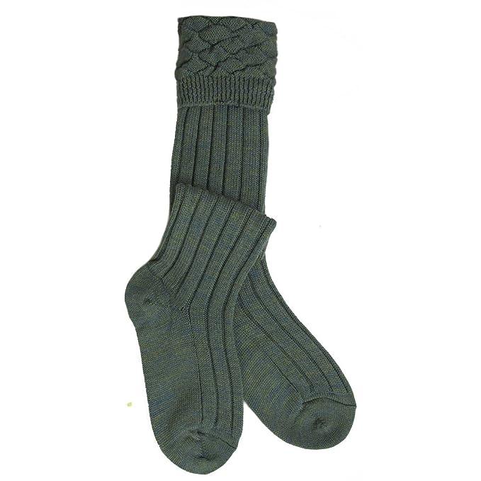 Hose Men/'s Charcoal Grey Wool Blend Kilt Socks