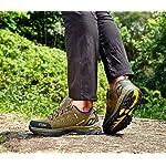 Chaussures de Randonnée Outdoor pour Hommes Femmes Basses Trekking et Les Promenades Sneakers Verte Bleu Noir 36-47 12