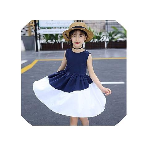 Amazon.com: Vestidos de verano para niñas 6 8 10 12 años ...