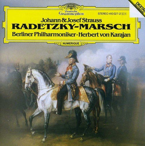 CD : Berlin Philharmonic Orchestra - Radetzky Marsch / Perpetuum Mobile (Germany - Import)