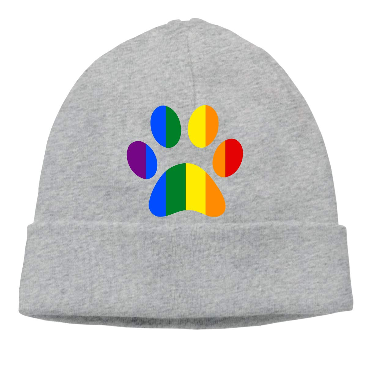 Beanie Hat LGBT Paw Pride Warm Skull Caps for Men and Women