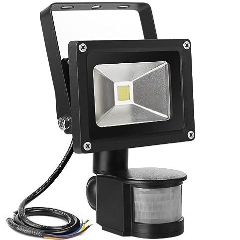 LE Spot LED Détecteur 10w Projecteur Extérieur Détecteur de ...