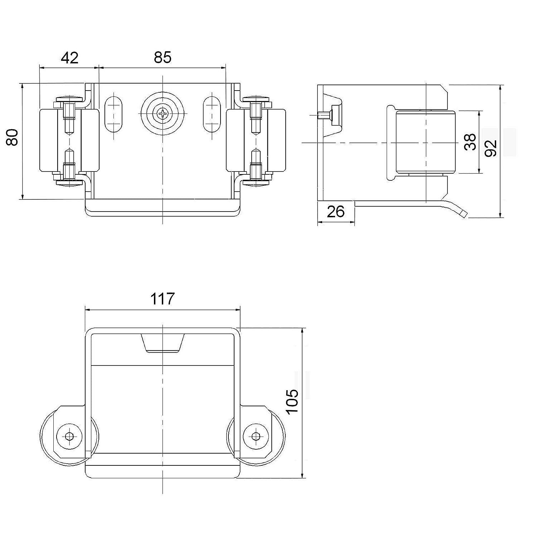 - SC913 DIN 913 M2x3 - - aus rostfreiem Edelstahl A2 V2A - Madenschrauben 50 St/ück ISO 4026 Gewindestifte mit Kegelkuppe und Innensechskant Antrieb