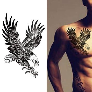 Etiqueta engomada temporal impermeable del tatuaje del pecho del ...
