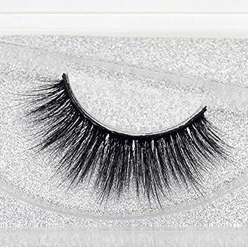 cca02822472 Amazon.com : Sophia Beauty Mink Eyelashes 3D MINK False Eyelashes Messy  Cross Dramatic Fake Eye Lashes Professional Makeup Lashes : Beauty