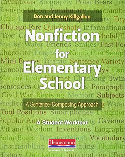 Nonfiction for Elementary School: A Sentence-Composing Approach
