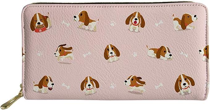 Dog Lover Front Printed Wallet Cases
