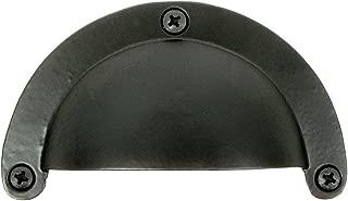 product image for Acorn Manufacturing APVBP 3.625 Inch Bin Pull, Black Iron Finish