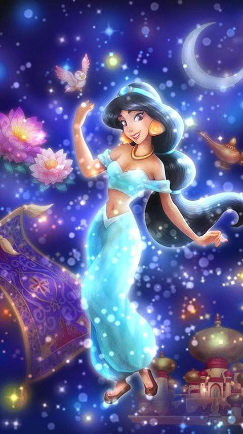 ディズニー 眩い自由への願い(ジャスミン) XFVGA(480×854)壁紙画像
