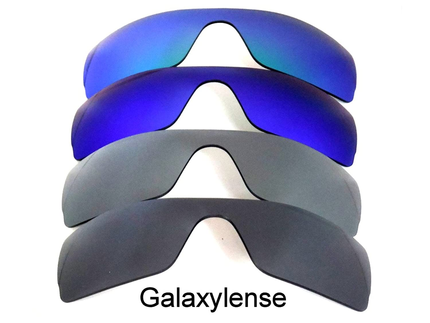 Galaxy Replacement Lenses for Oakley Batwolf Black&Gray&Blue&Green Color Polarized 4 Pairs