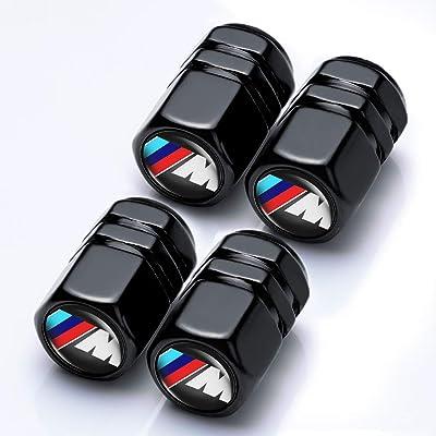 ChuangWanYue 4 Pcs Tire Valve Stem Caps Suit for BMW(M Series): Automotive