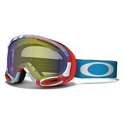 Amazon.com : Oakley A-Frame 2.0 1975 Ski Goggles, HI Yellow : Sports ...
