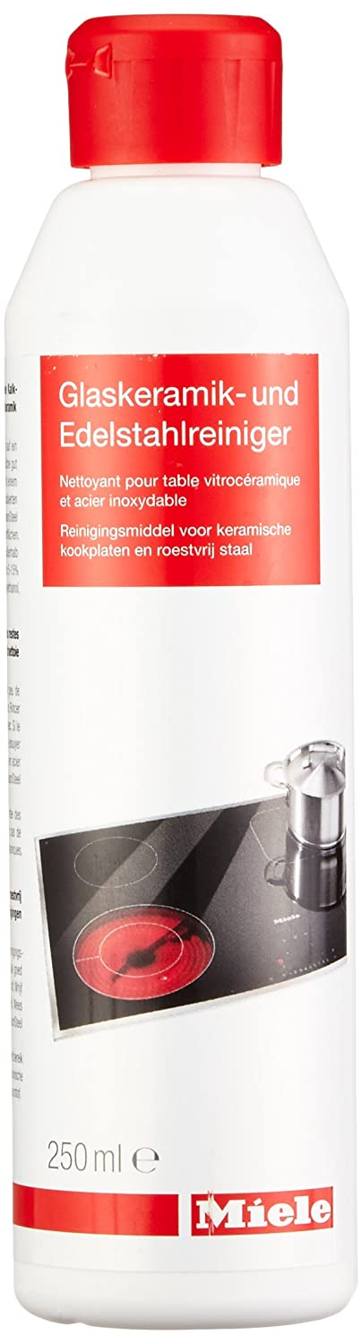 Miele 9185230 Ceramic Glass/Stainless Steel Cleaner, 250 ml