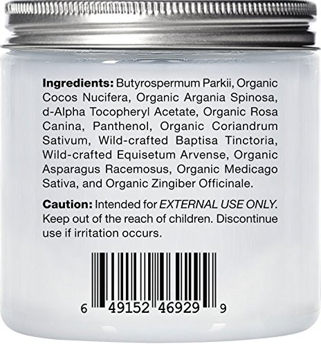 Majestic Pure Argan Hair Mask, Natural Hair Care Product, Hydrating & Restorative Hair Repair Mask - 8 fl Oz by Majestic Pure (Image #4)