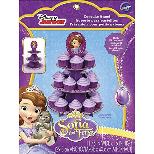Wilton 1512-1664 Sofia The First Cupcake Stand (Sofia The First Cupcake Stand)