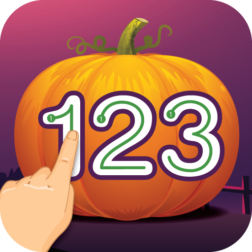 Write Numbers Tracing 123 Halloween Edition -