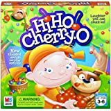 "Hasbro 44703 Hi Ho! Cherry-O Board Game for 2 to 4 Players Kids Ages 3 and Up (Amazon Exclusive), 10.75"" x 3"", Green, Yellow, Blue"