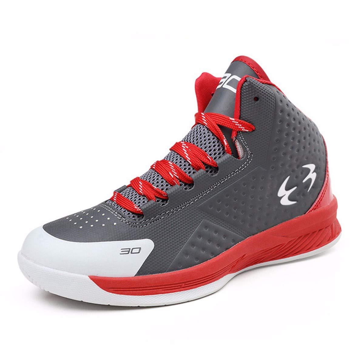 KMJBS-High School Students High Basketball Schuhe Sportschuhe für Männer und Frauen, leicht und verschleißfest Outdoor