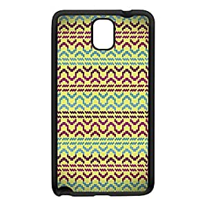 Aztec 2 Black Silicon Rubber Case for Galaxy Note 3 by DevilleArt + FREE Crystal Clear Screen Protector