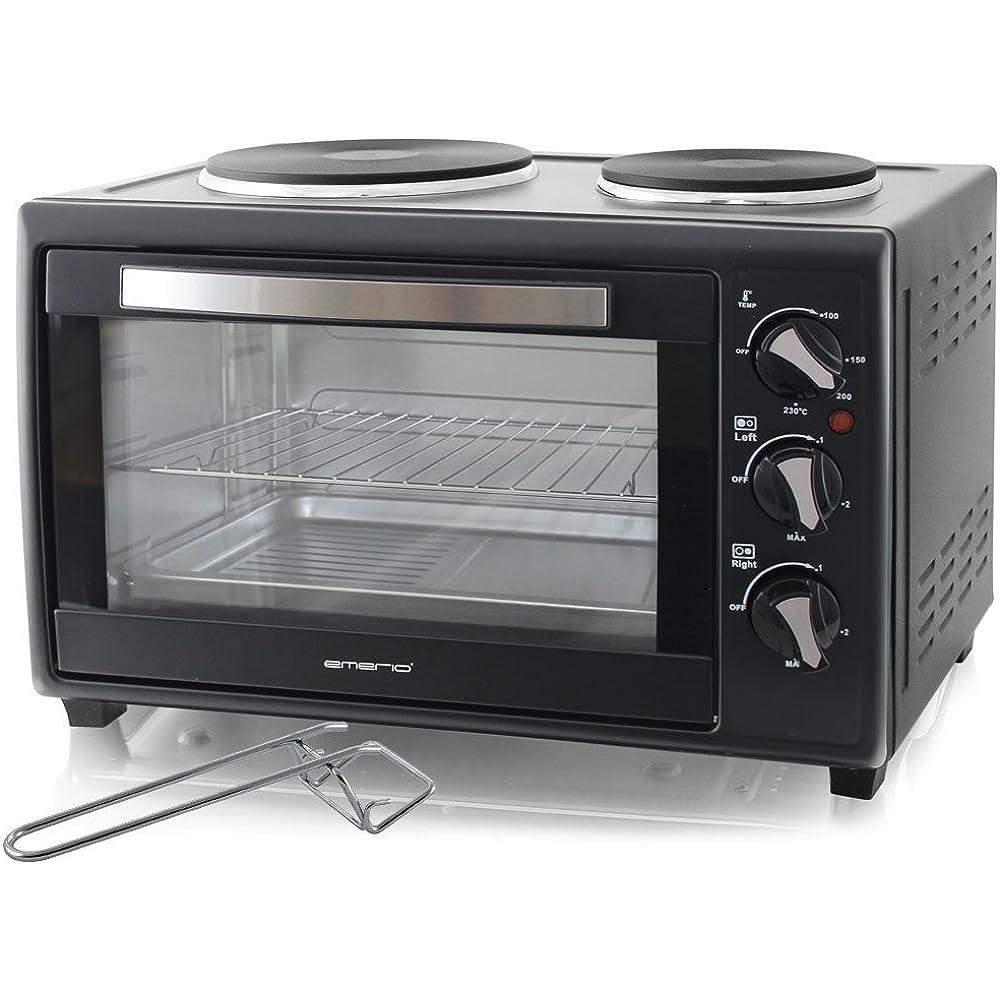 Manche Minibacköfen sind sogar mit Kochplatten ausgestattet.