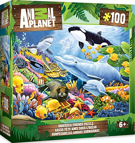 - MasterPieces Animal Planet Undersea Friends - 100 Piece Kids Puzzle