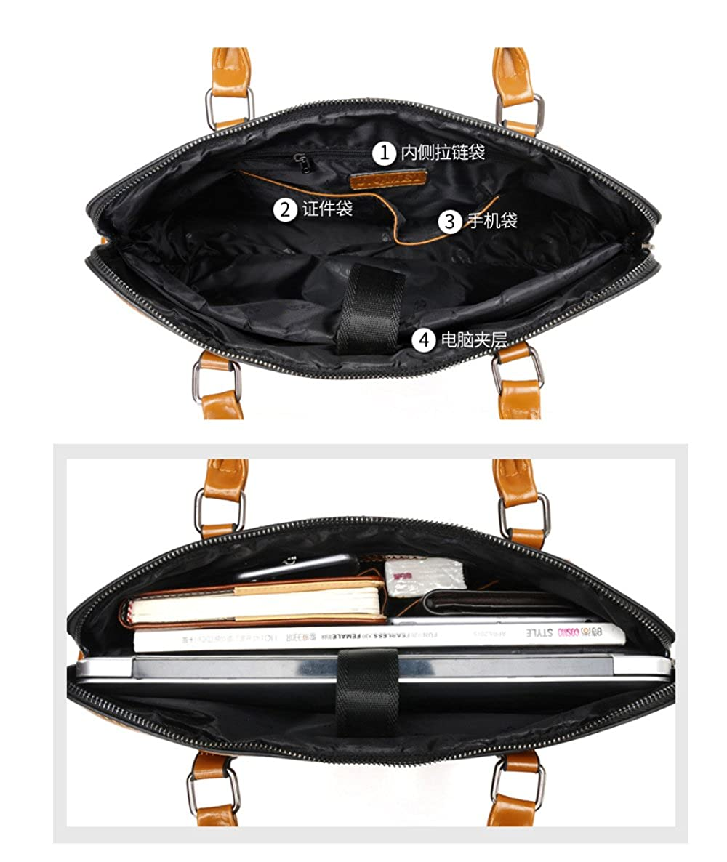 LJWLCH Laptop-Tasche Für Damen Damen Mädchen Mädchen Mädchen Leder Business Tasche Umhängetasche Schultertasche Wasserdichter Rucksack B07PDKBKWN Damenhandtaschen Förderung 09656b