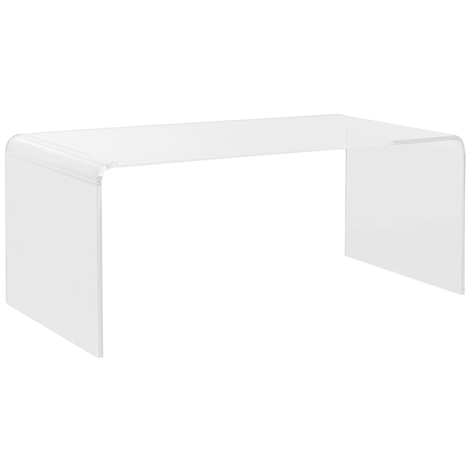 Amazon.com: Safavieh Home Collection Atka Clear Coffee Table: Kitchen U0026  Dining Part 43