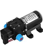 Pompe de pression de diaphragme de l'eau, pulvérisateur de pompe de pompe à eau à amorçage automatique à haute pression de CC 12V 100W 8L / Min 160Psi pour le lavage