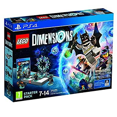 LEGO Starter Pack Dimensions PS