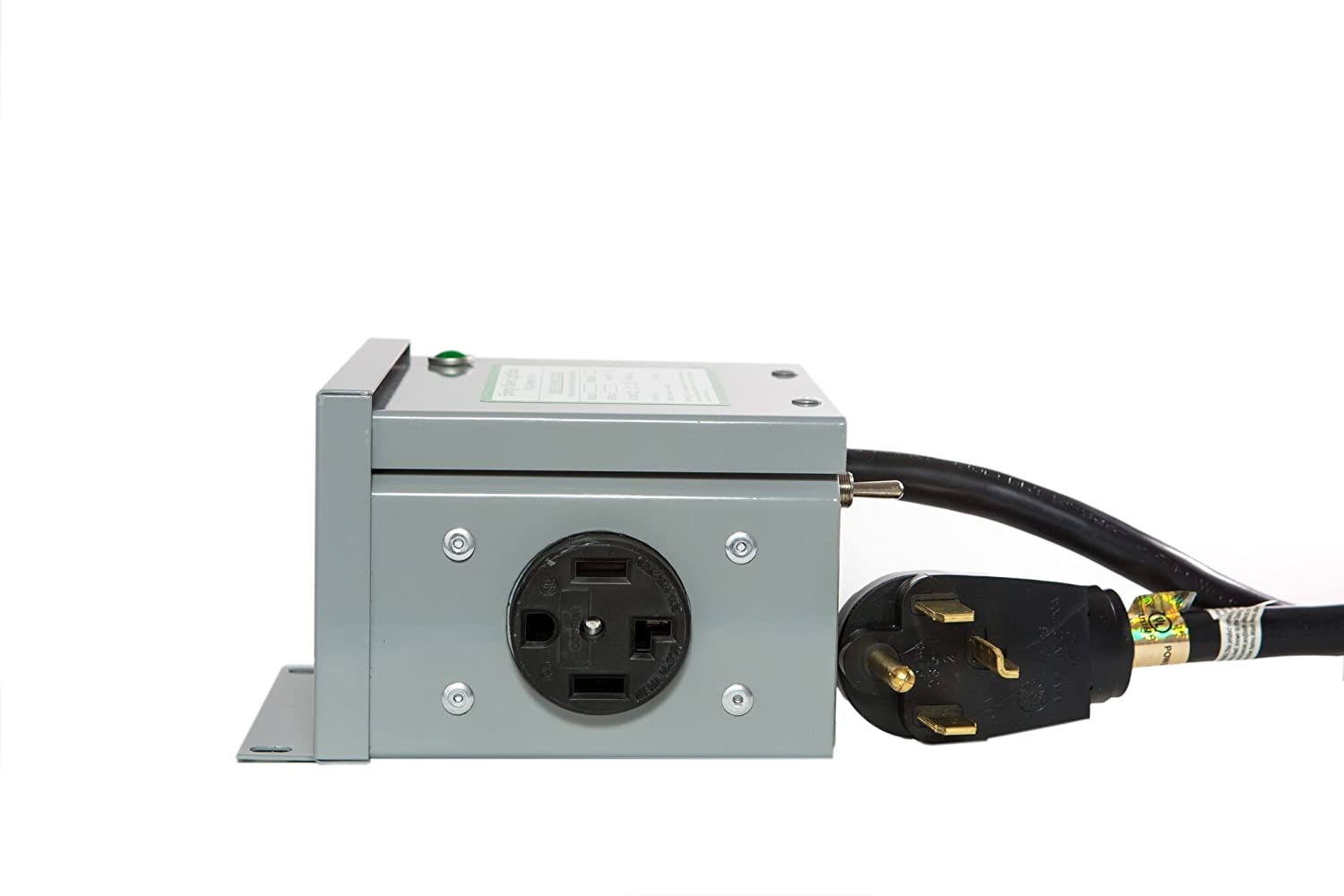 Dryer 4 Prong Residential Surge Protector Energy Saver Plug Wiring Maytag Receptacle Green Box Unit Car Electronics