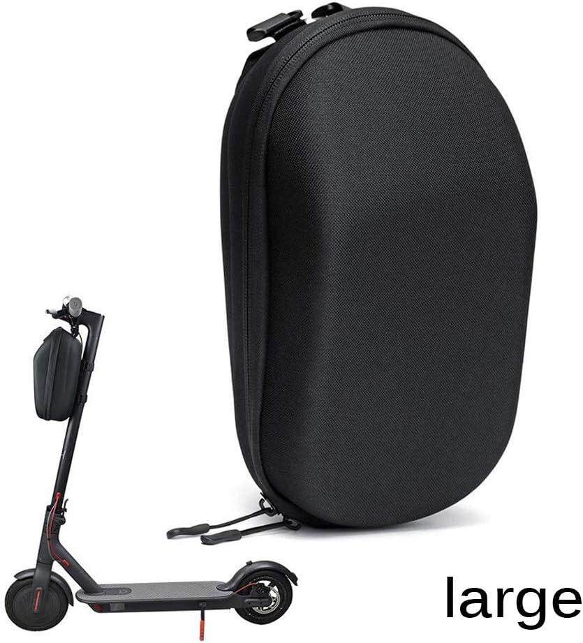 OurLeeme Scooter Bolsa de Almacenamiento, Bolsa Delantera de Gran Capacidad Bolsa para Scooter eléctrico Bolsa Colgante para XiaoMi (Grande)