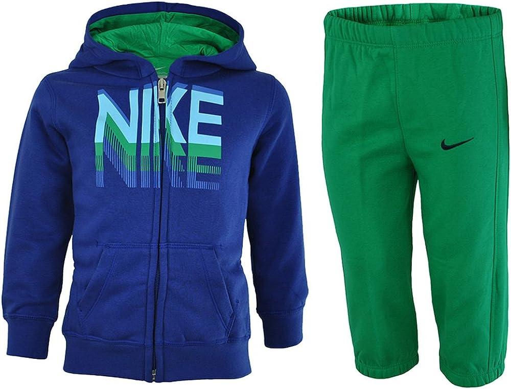 Nike Kids Tracksuit niños chándal bebé Azul, Tamaño:9-12 M ...