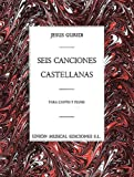 Guridi Seis Canciones Castellanas Vce/Pf, , 0711968640