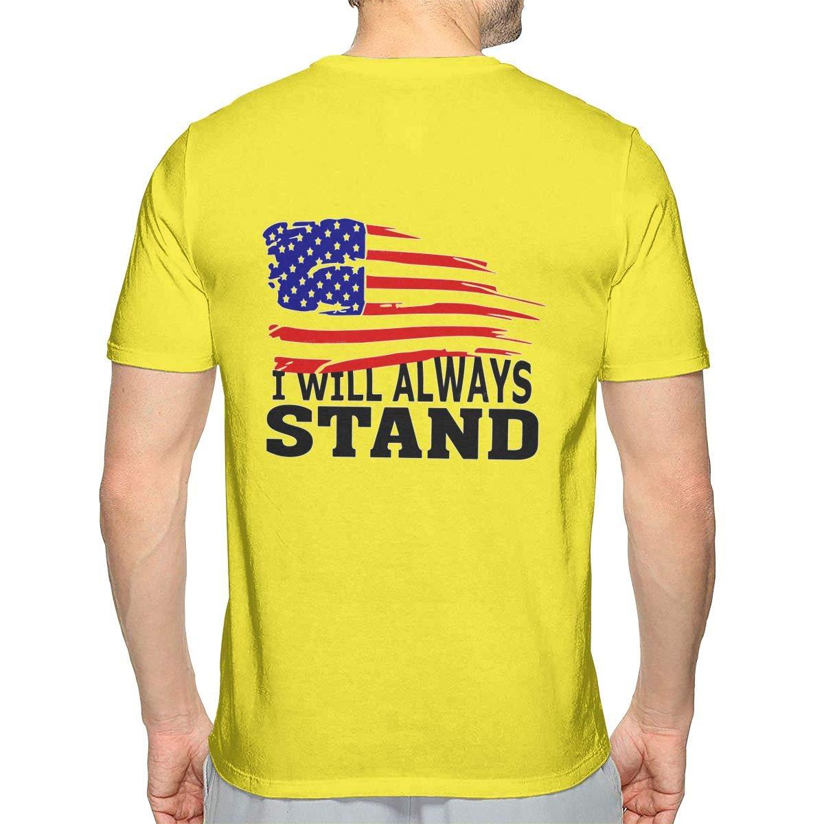 I Will Always Stand Mens Sport Short Sleeve Tshirt