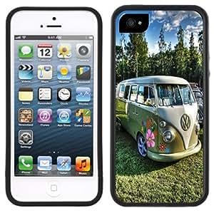 Hippie Hippy Van Bus Handmade iPhone 5C Black Case