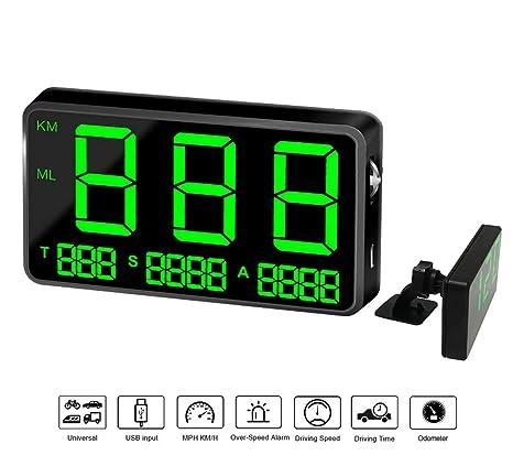 COOLOUS C80 - Velocímetro Digital Universal para Coche, con ...